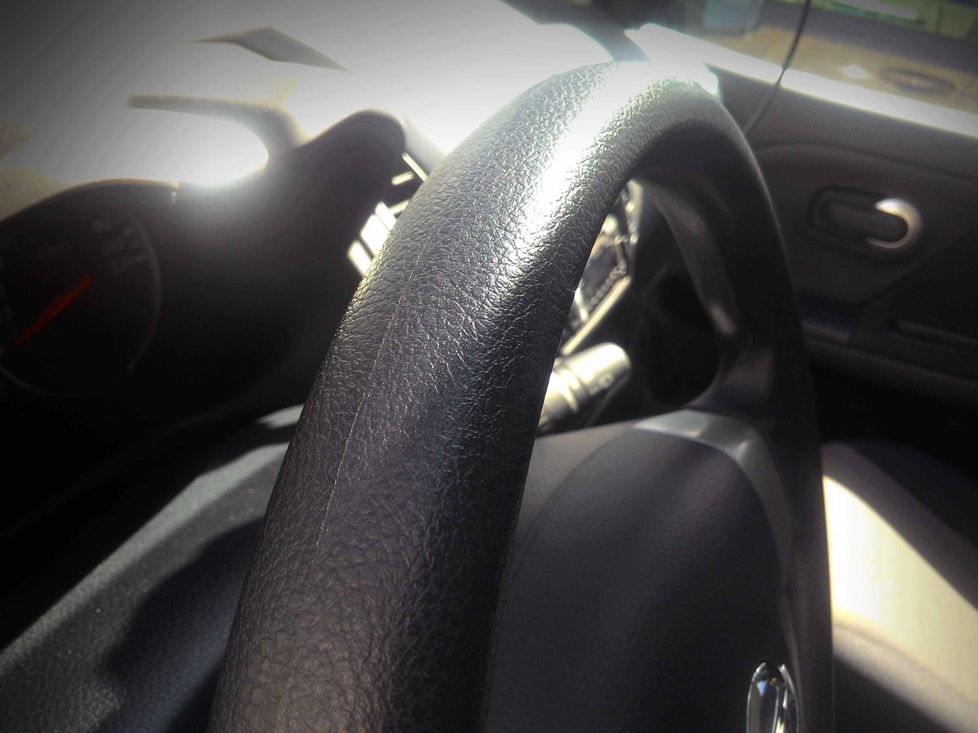 Руль Nissan Note при пробеге 20 тыс.км