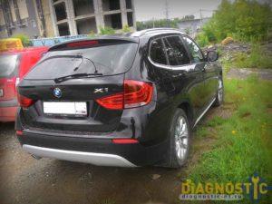 BMW X1E84 сзади