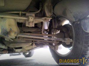 Задняя подвеска Duster
