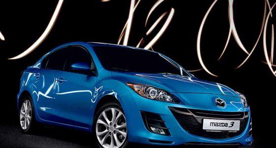 Mazda3 bl дорестайл спереди