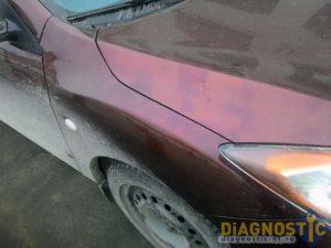 Низкокачественный кузовной ремонт