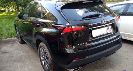 Lexus NX в угоне